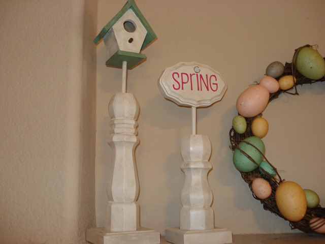 Decor Columns with Interchangeable Toppers, She Made it (6)