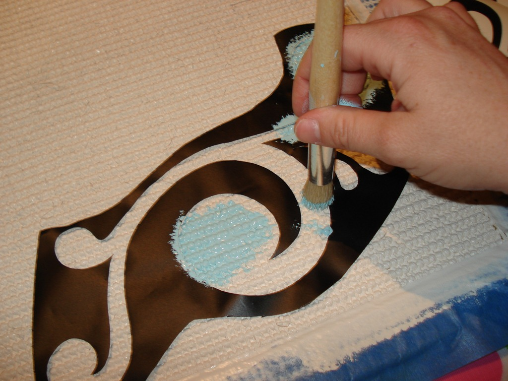 Painting Rug, She Made It Crafts (5)