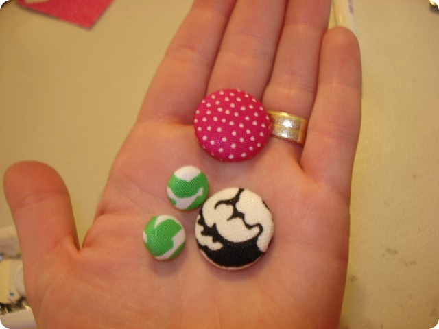 Fabric Covered Buttons, She Made it (6)