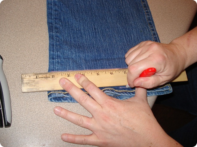 Hem Your Jeans, She Made it Crafts (5)