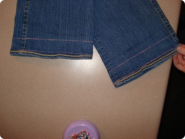 Hem Your Jeans, She Made it Crafts (6)