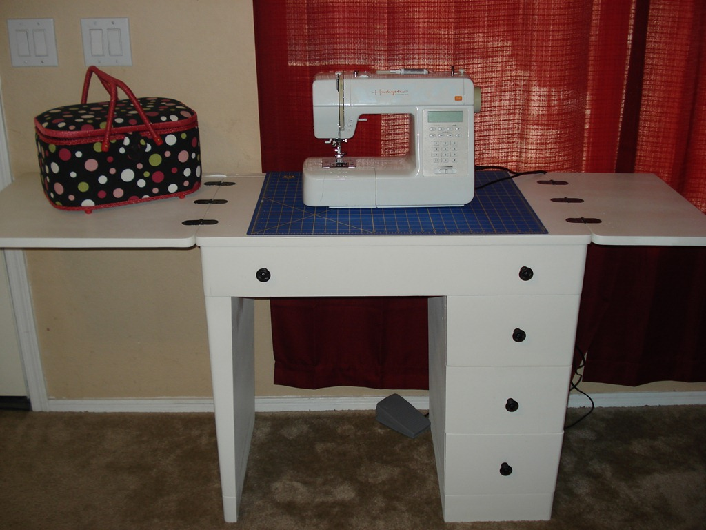 Sewing Desk Redo, She Made it Crafts (6) - Antique Sewing Desk Makeover - She Made It: Crafts