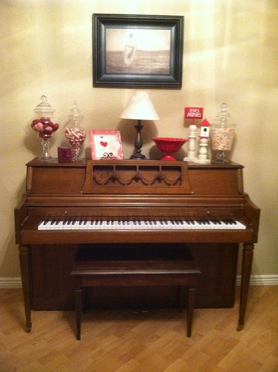 Decorate Upright Piano Christmas