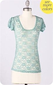 Downeast Lace Lover Tee